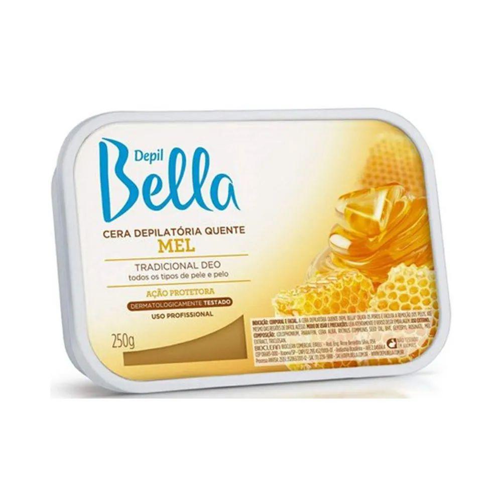 Cera Depilatória Quente Mel 250g Depil Bella