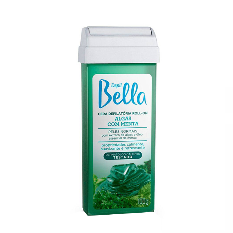 Cera Depilatória Roll On 100g Algas Depil Bella