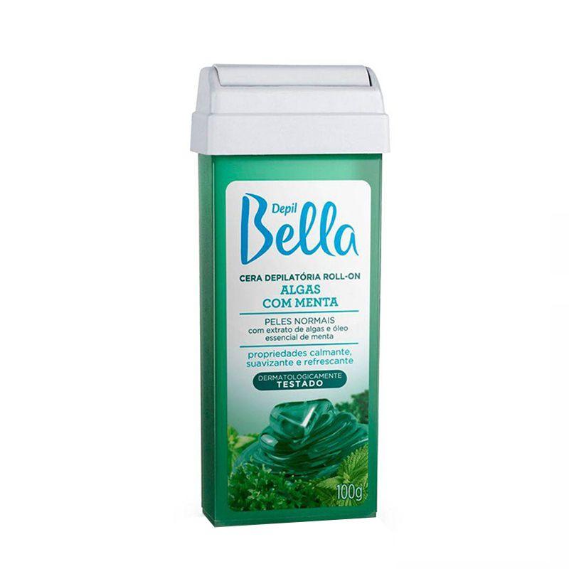 Cera Depilatória Roll On Algas 100g Depil Bella