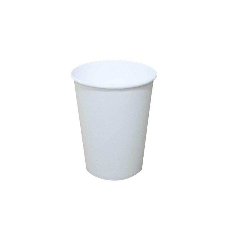 Copo Descartável 180ml de Papel Biodegradável 100un Cera Fácil