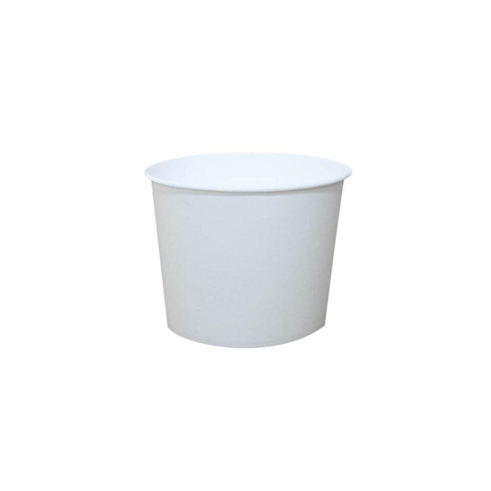 Copo Descartável 200ml de Papel Biodegradável 100un Cera Fácil