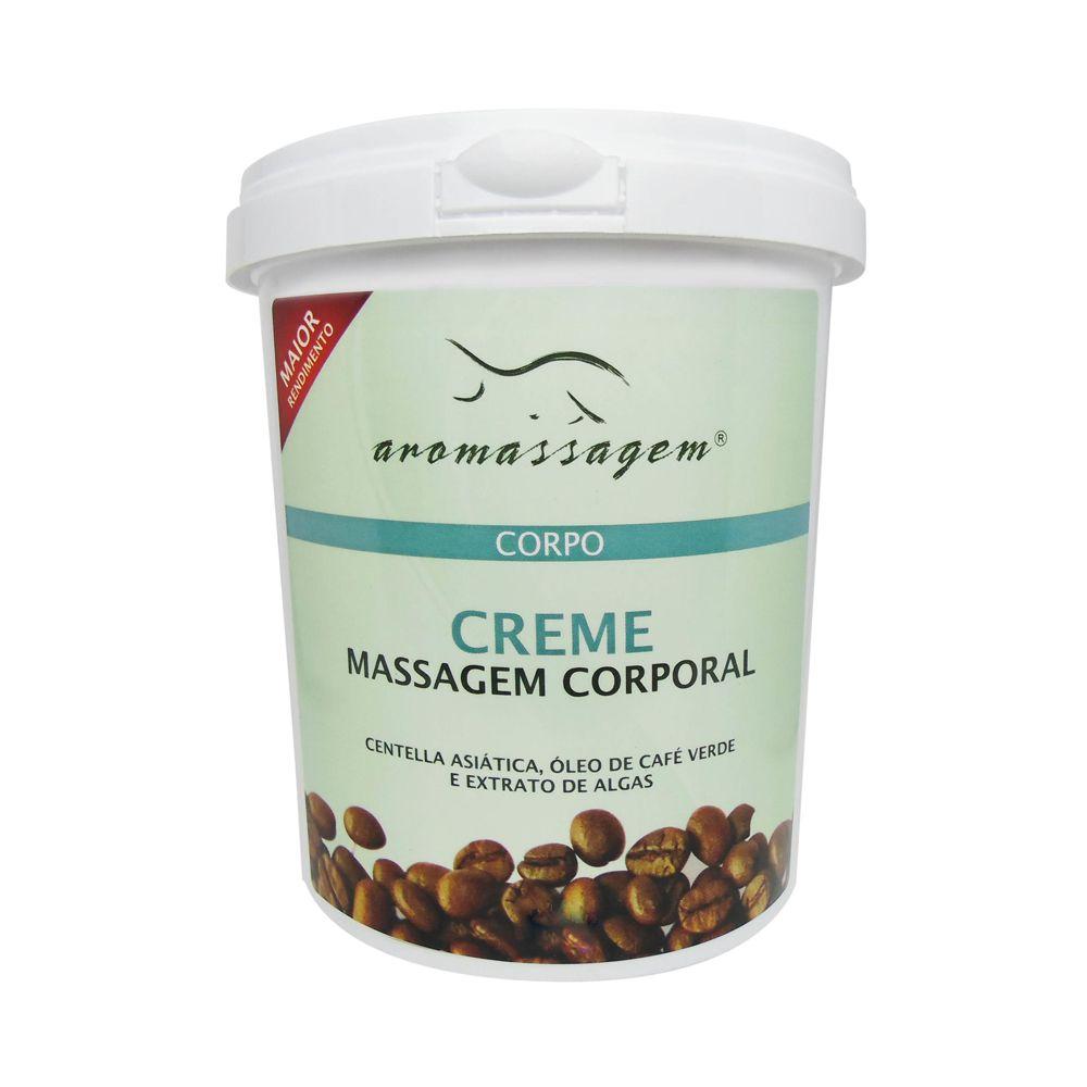 Creme Corporal para Massagem Café Verde 250g Essencial Cosméticos