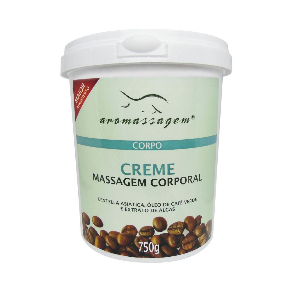 Creme Corporal para Massagem Café Verde 750g Essencial Cosméticos