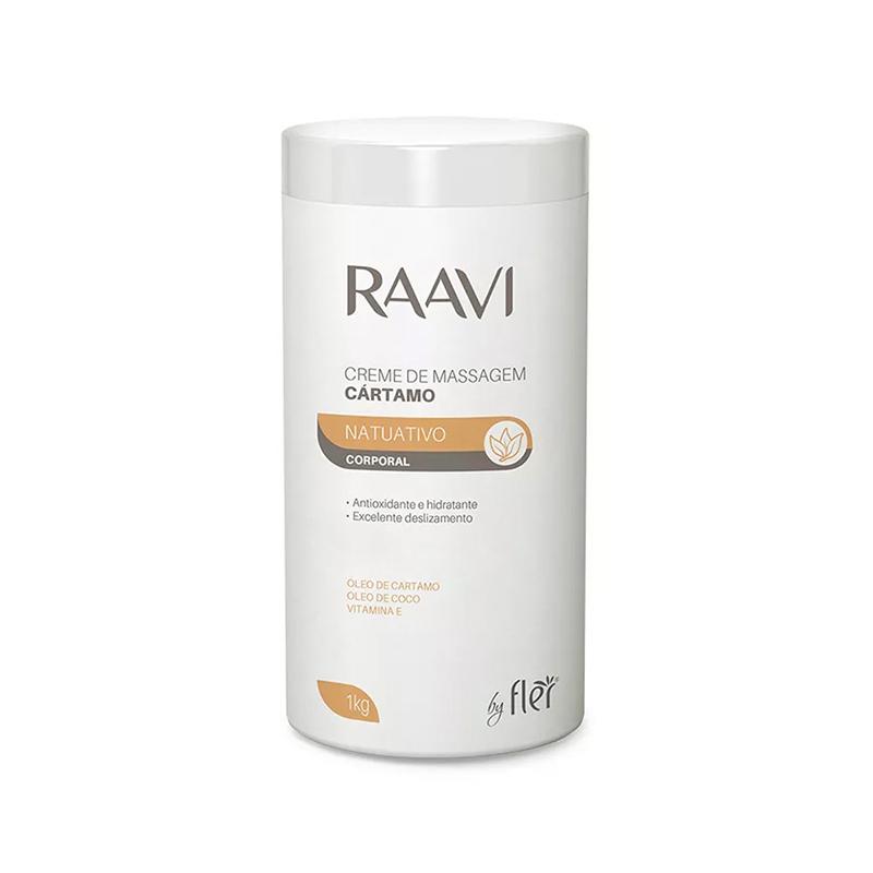 Creme De Massagem Cártamo 1kg Raavi