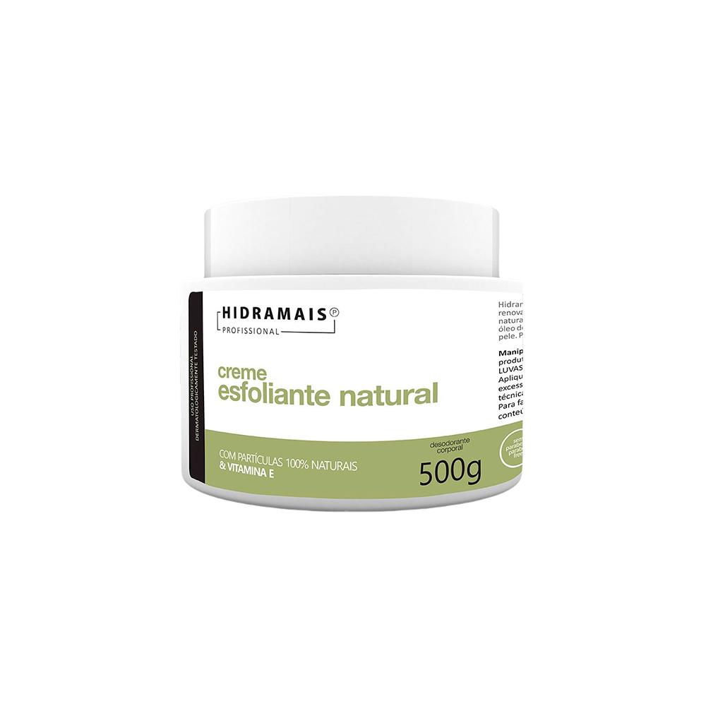 Creme de Massagem Esfoliante Natural 500g Hidramais