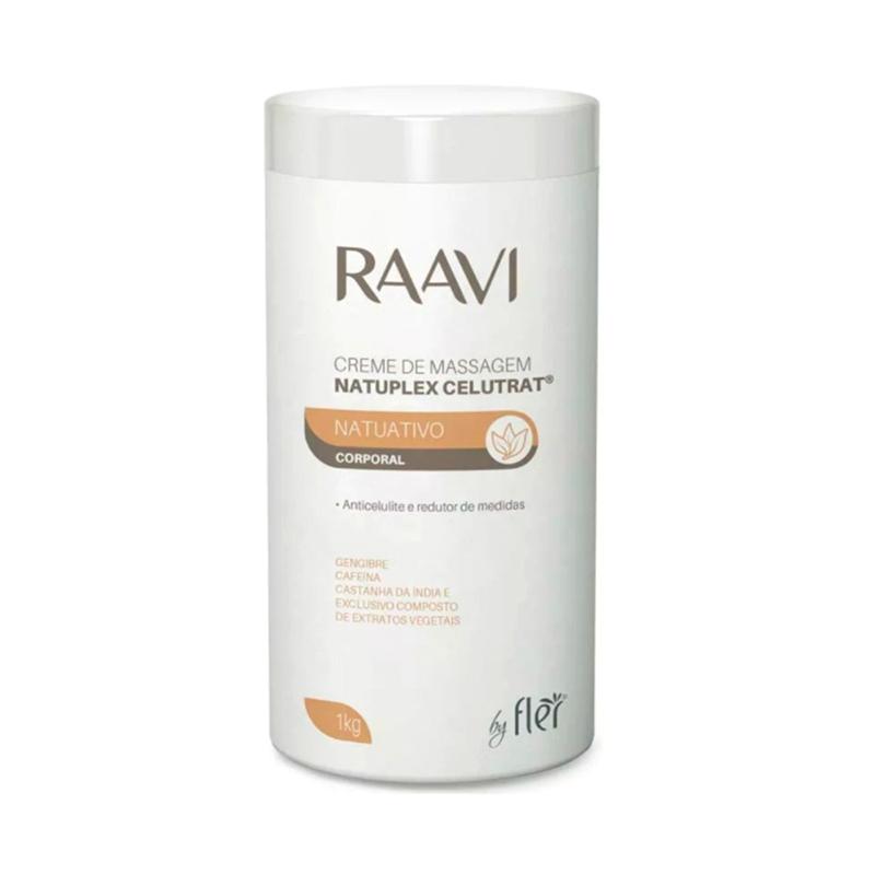 Creme De Massagem Natuplex Celutrat 1kg Raavi