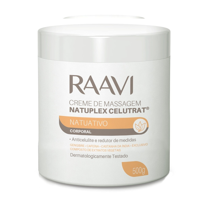 Creme De Massagem Natuplex Celutrat 500g Raavi