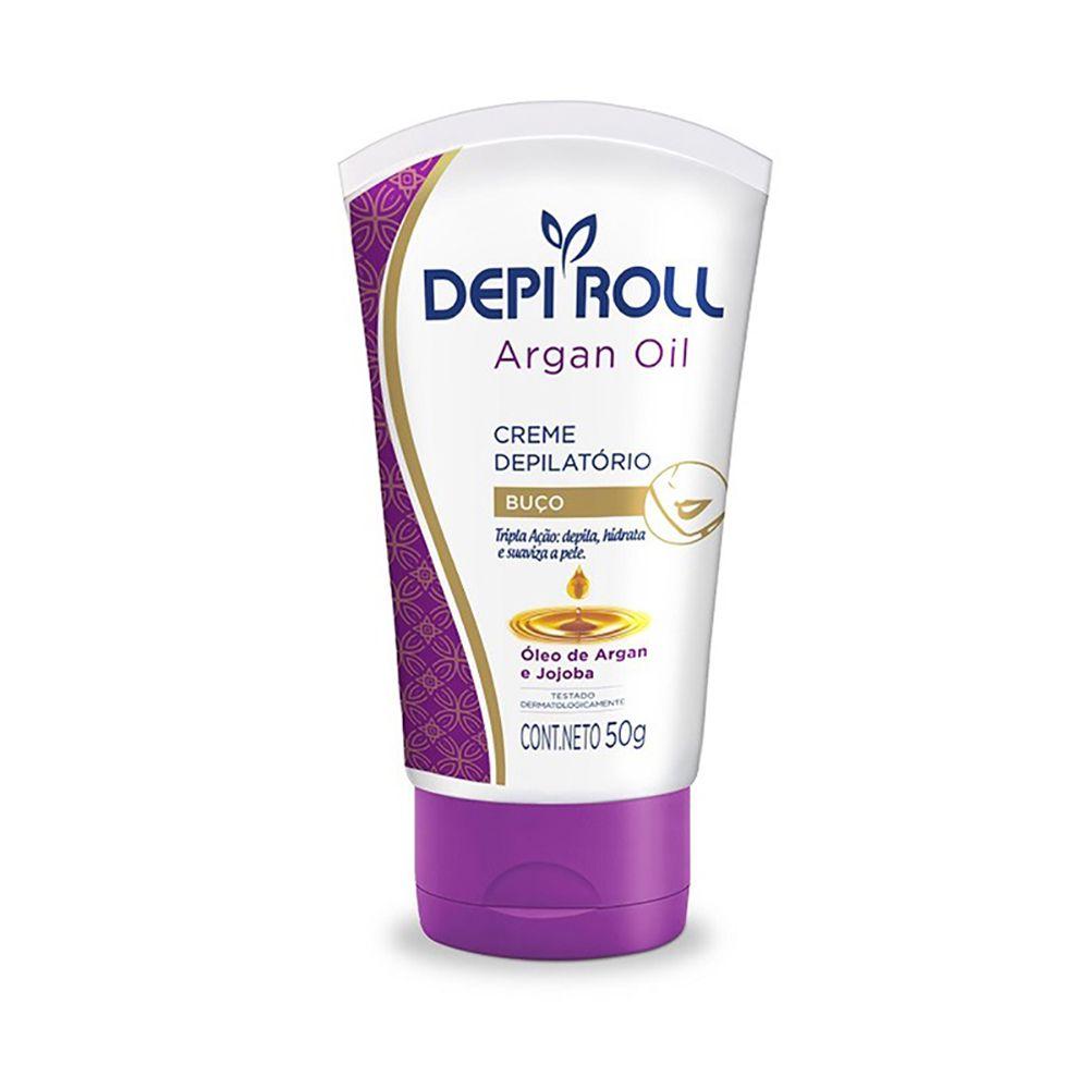 Creme Depilatório Buço Argan Oil 50g DepiRoll