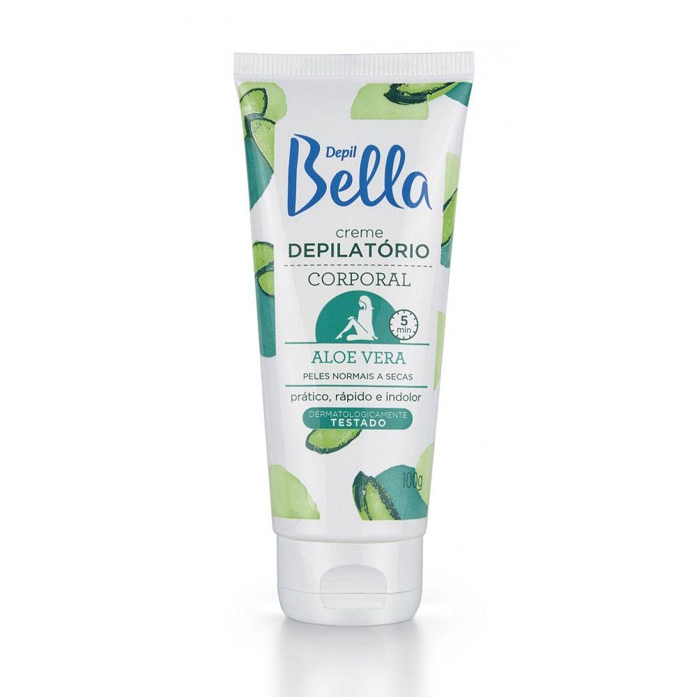 Creme Depilatório Corporal Aloe Vera 100g Depil Bella