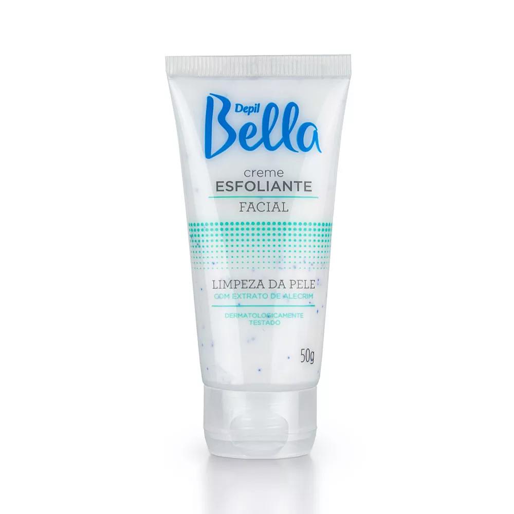 Creme Esfoliante Facial 50g Alecrim Depil Bella