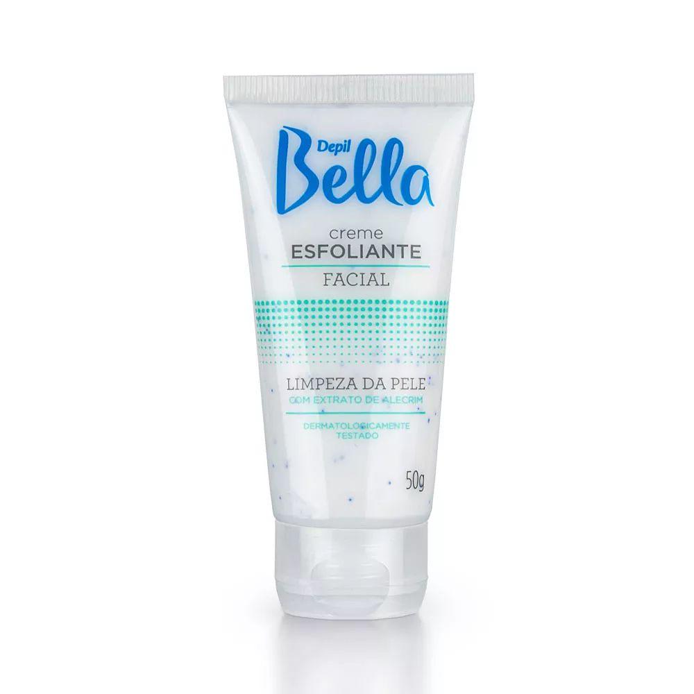 Creme Esfoliante Facial Alecrim 50g Depil Bella