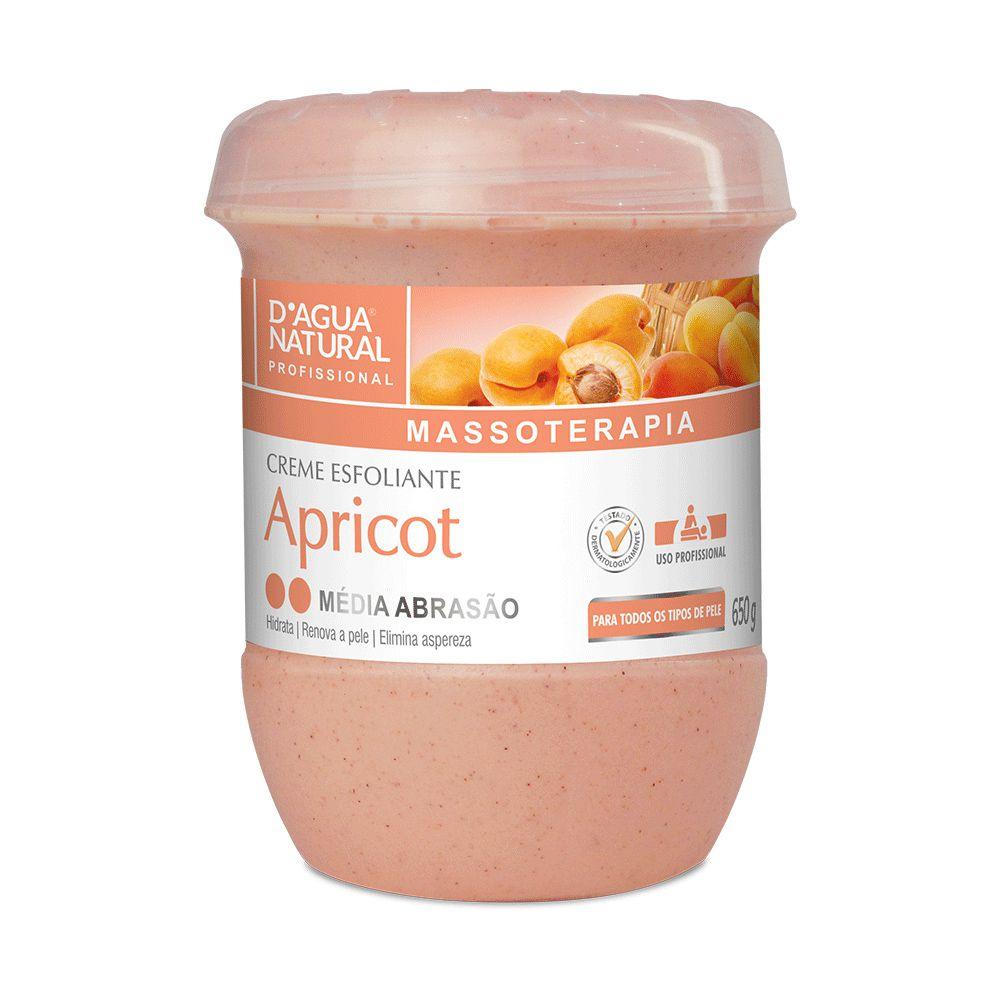 Creme Esfoliante Média Abrasão Apricot 650g D'Agua Natural