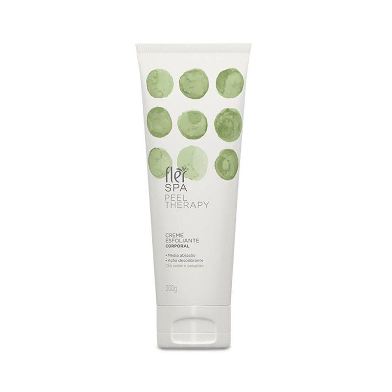 Creme Esfoliante Spa Peel Therapy 200g Flér