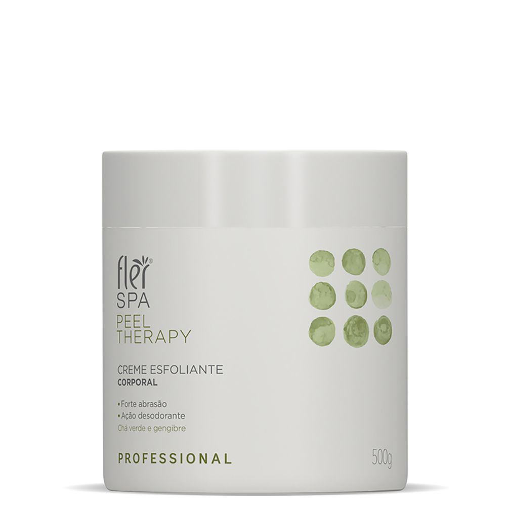 Creme Esfoliante Spa Peel Therapy 500g Flér