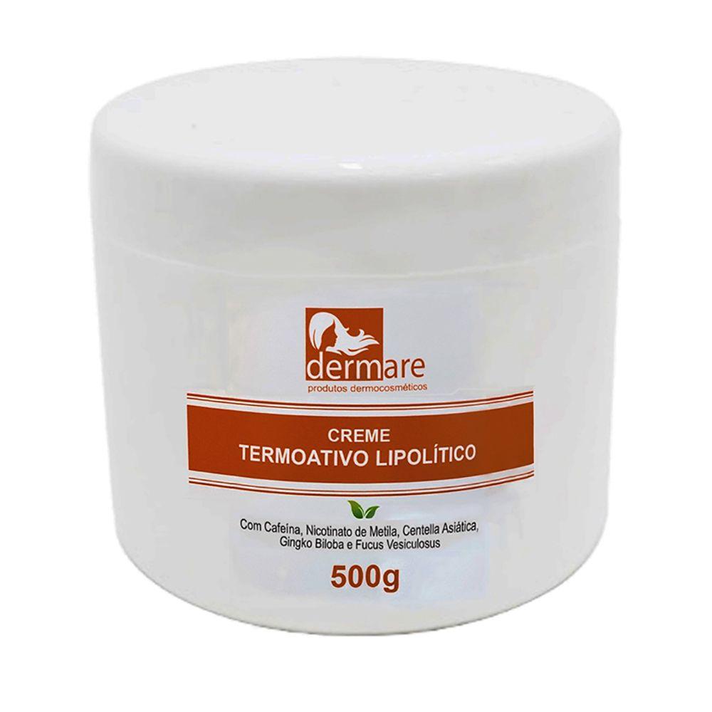 Creme Termoativo 500g Dermare