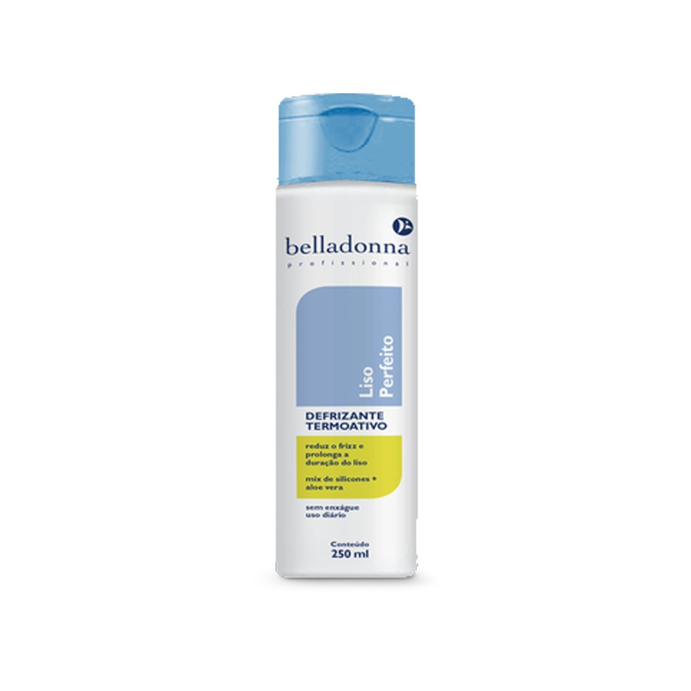 Defrizante Termoativo Siliconado Liso Perfeito 250ml Belladonna