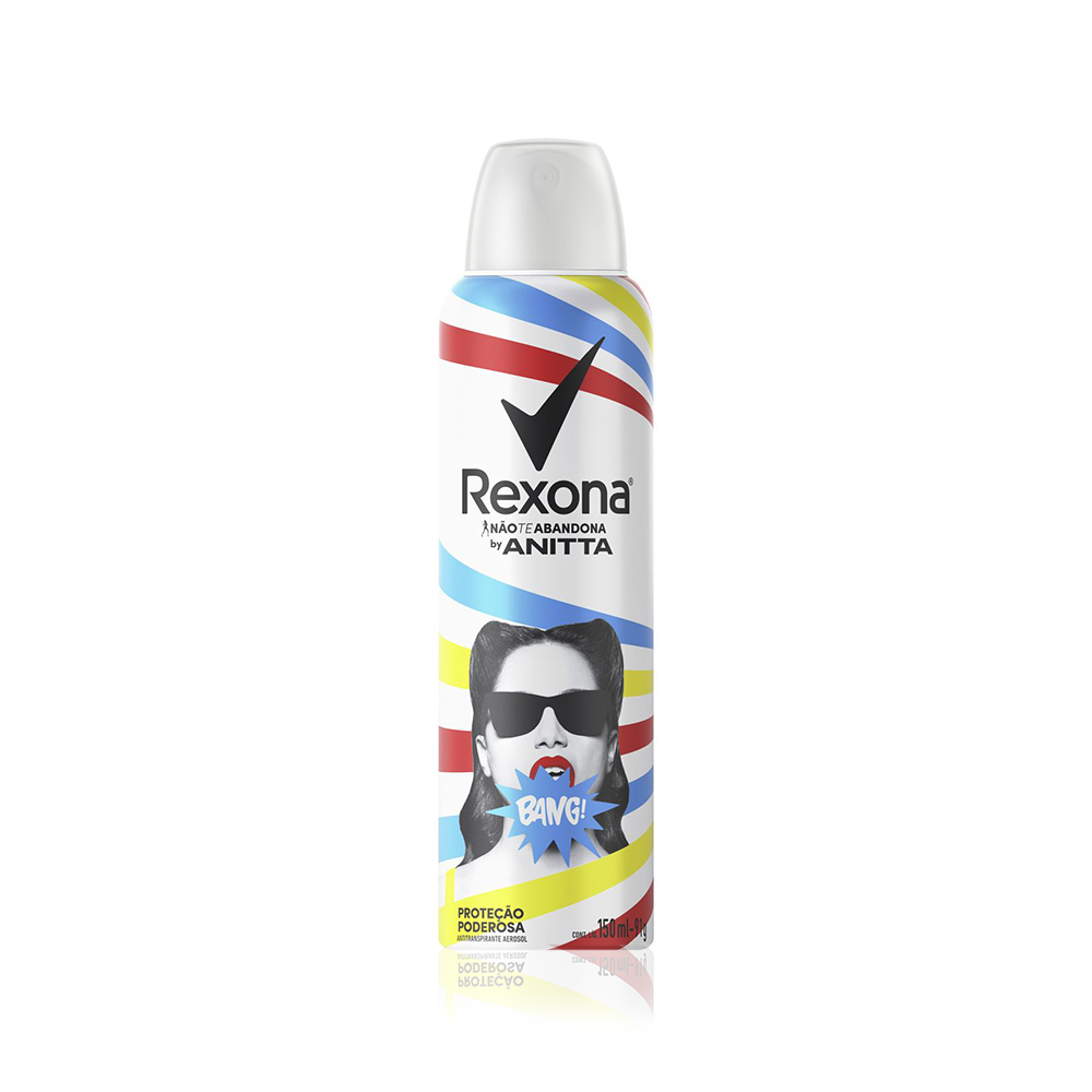 Desodorante Aerossol Rexona Feminino Anitta Bang 150ml