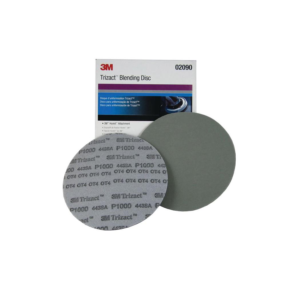 Disco Trizact P1000 152mm para Uniformização 3M 02090