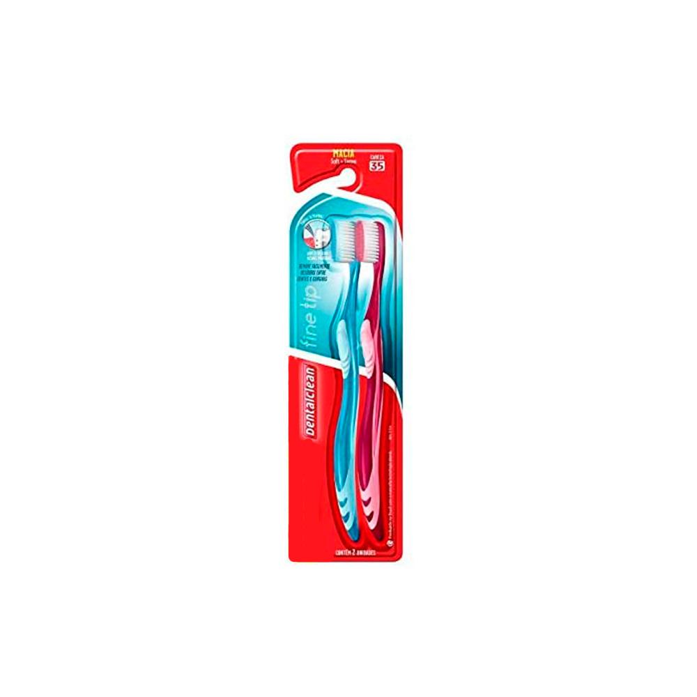 Escova de Dentes Cerdas Macia Ultrafina Fine Tip