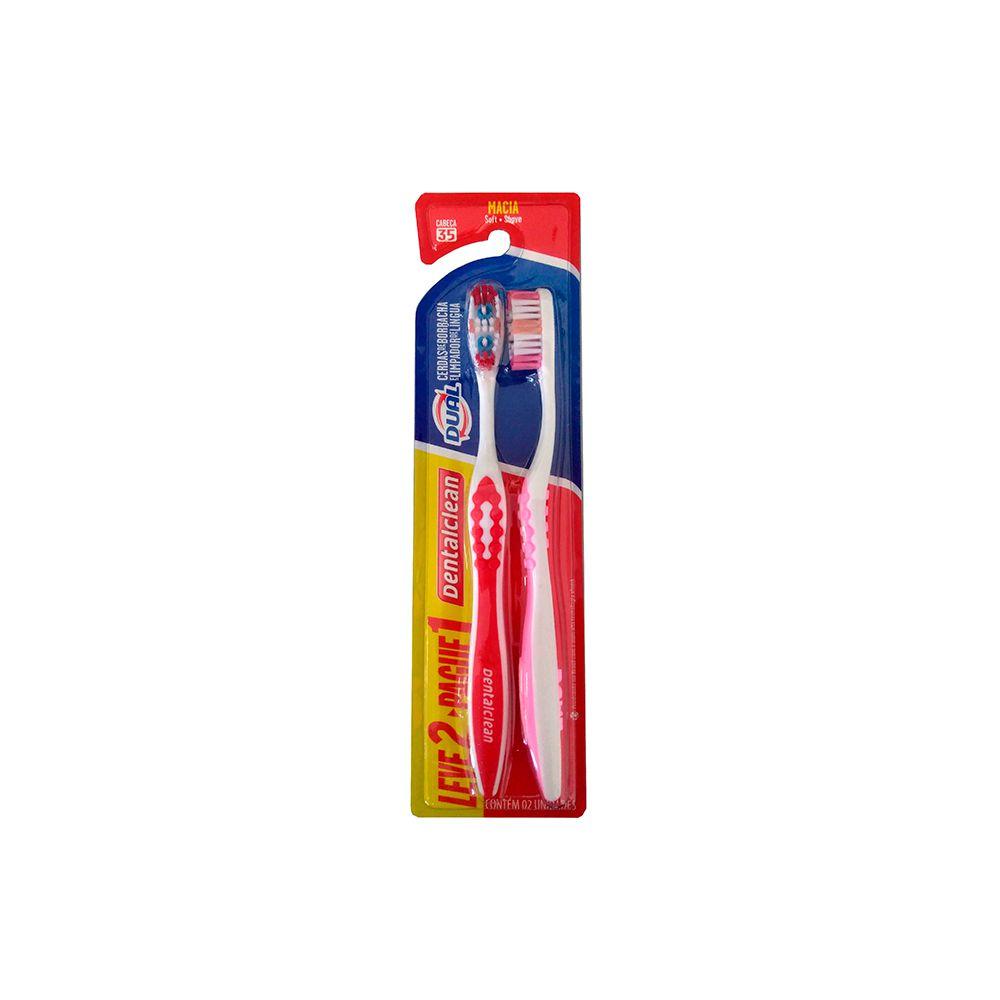 Escova de Dentes Cerdas Média Dual