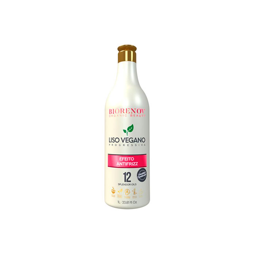 Escova Progressiva Liso Vegano Efeito AnitFrizz 1L biorenov