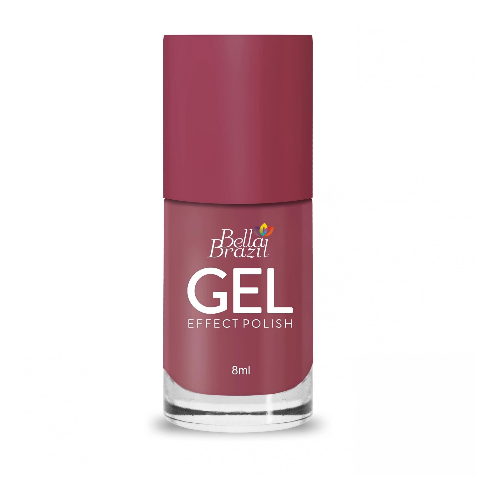 Esmalte Efeito Gel Bossa Nova 8ml Bella Brazil