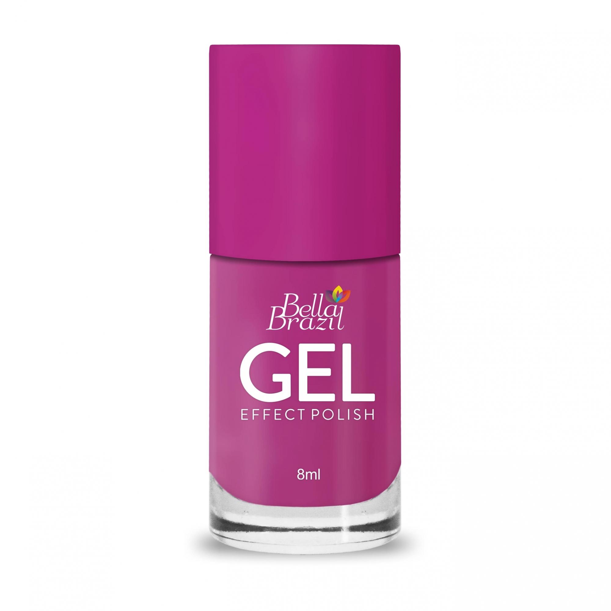 Esmalte Efeito Gel Rumba 8ml Bella Brazil