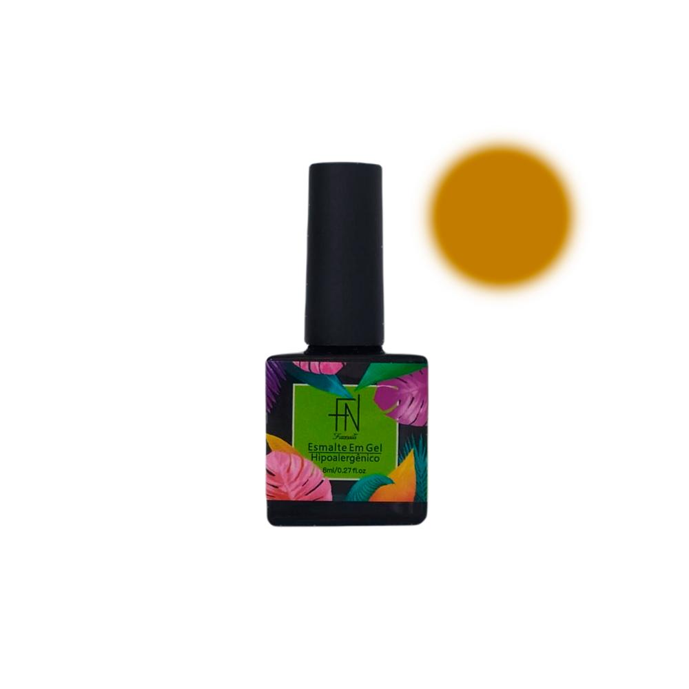 Esmalte em Gel T3 LED UV 8ml Amarelo 006 Fannails