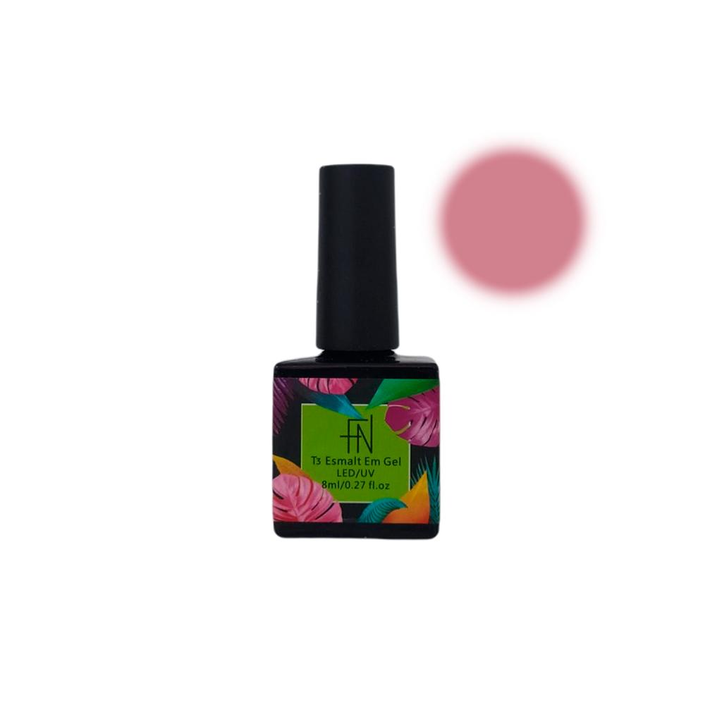 Esmalte em Gel T3 LED UV 8ml Rosa 016 Fannails