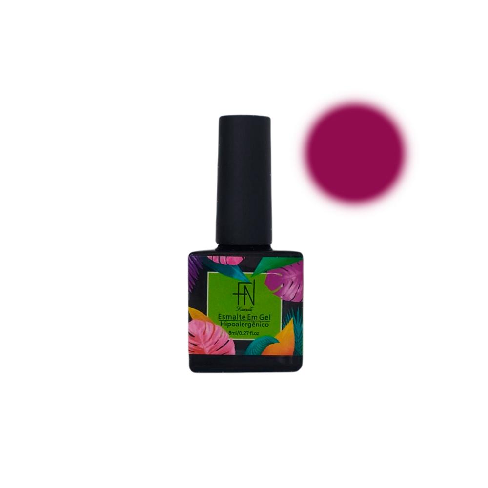 Esmalte em Gel T3 LED UV 8ml Rosa 023 Fannails