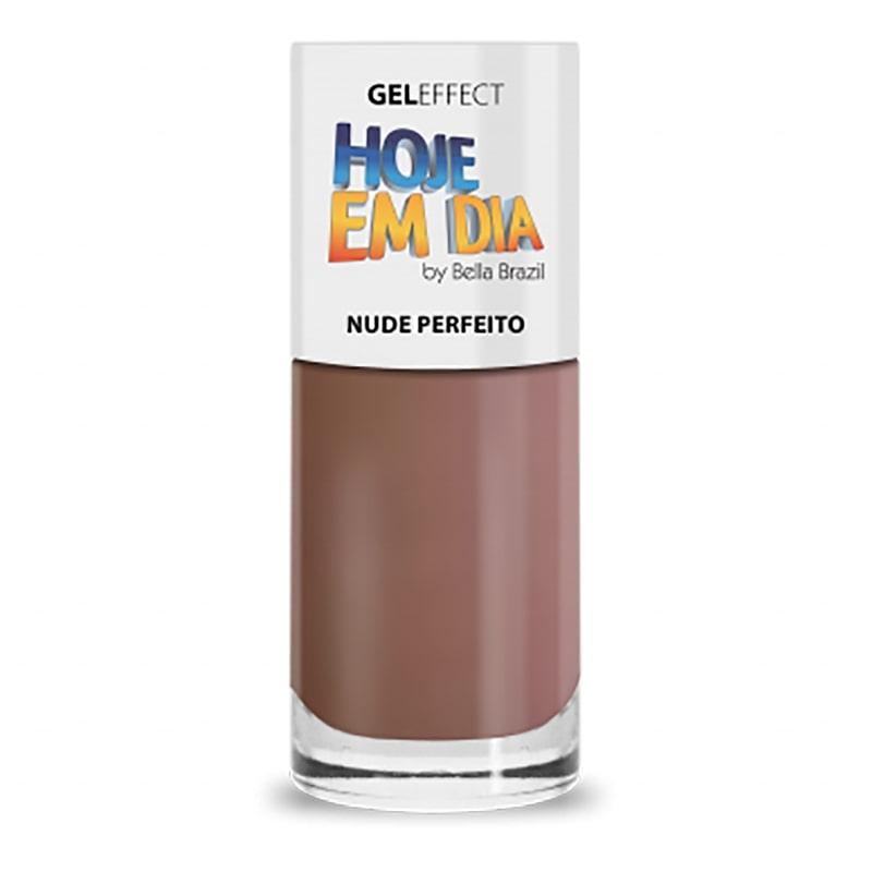 Esmalte Linha Hoje em Dia Nude Perfeito 8ml Bella Brazil