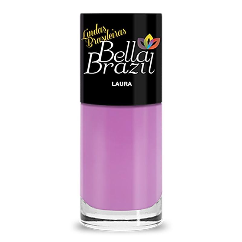 Esmalte Linha Lindas Brasileiras Laura 8ml Bella Brazil