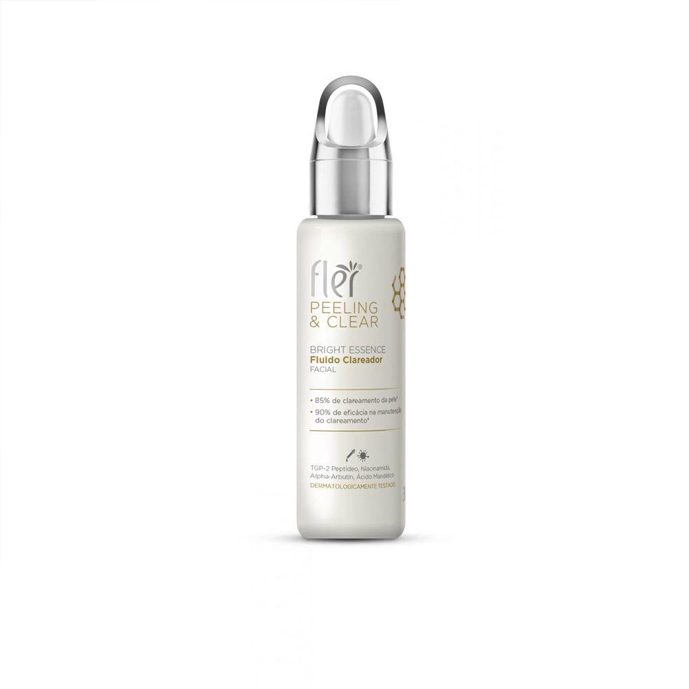 Fluido Clareador Facial Peeling& Clear 30ml Flér