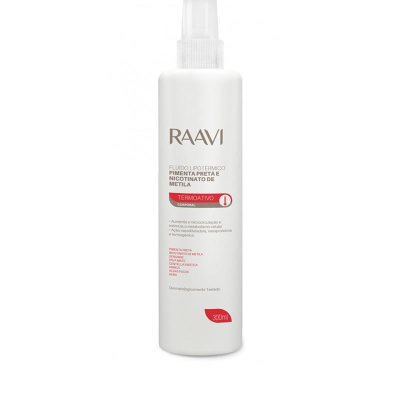 Fluído Lipotermico Pimenta Preta 300ml Raavi