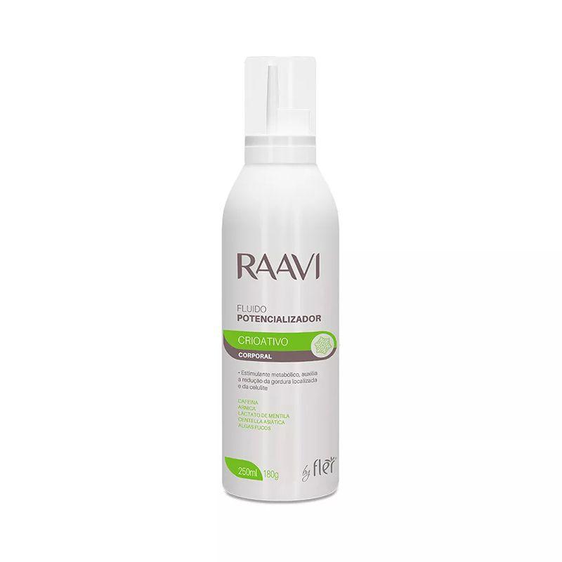 Fluído Potencializador Crioterápico 250ml Raavi