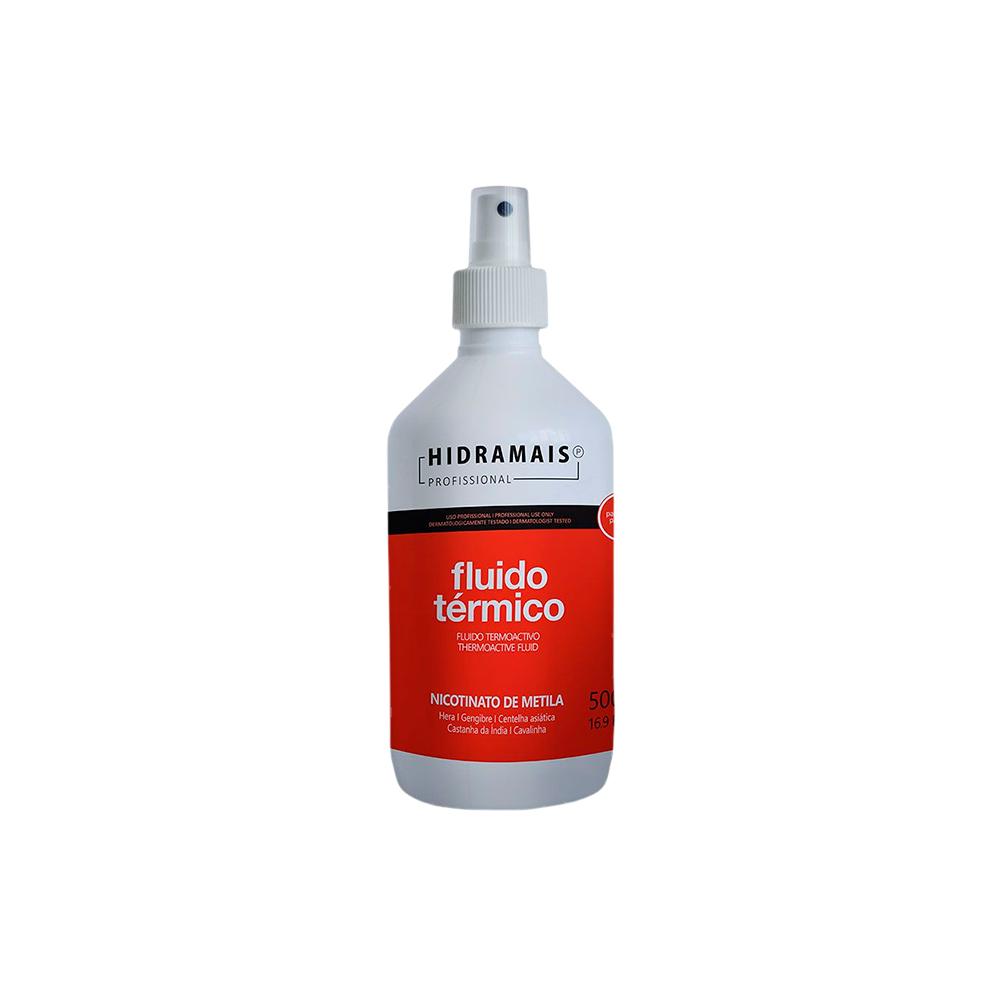 Fluído Térmico para Massagem com Nicotinato 500ml Hidramais