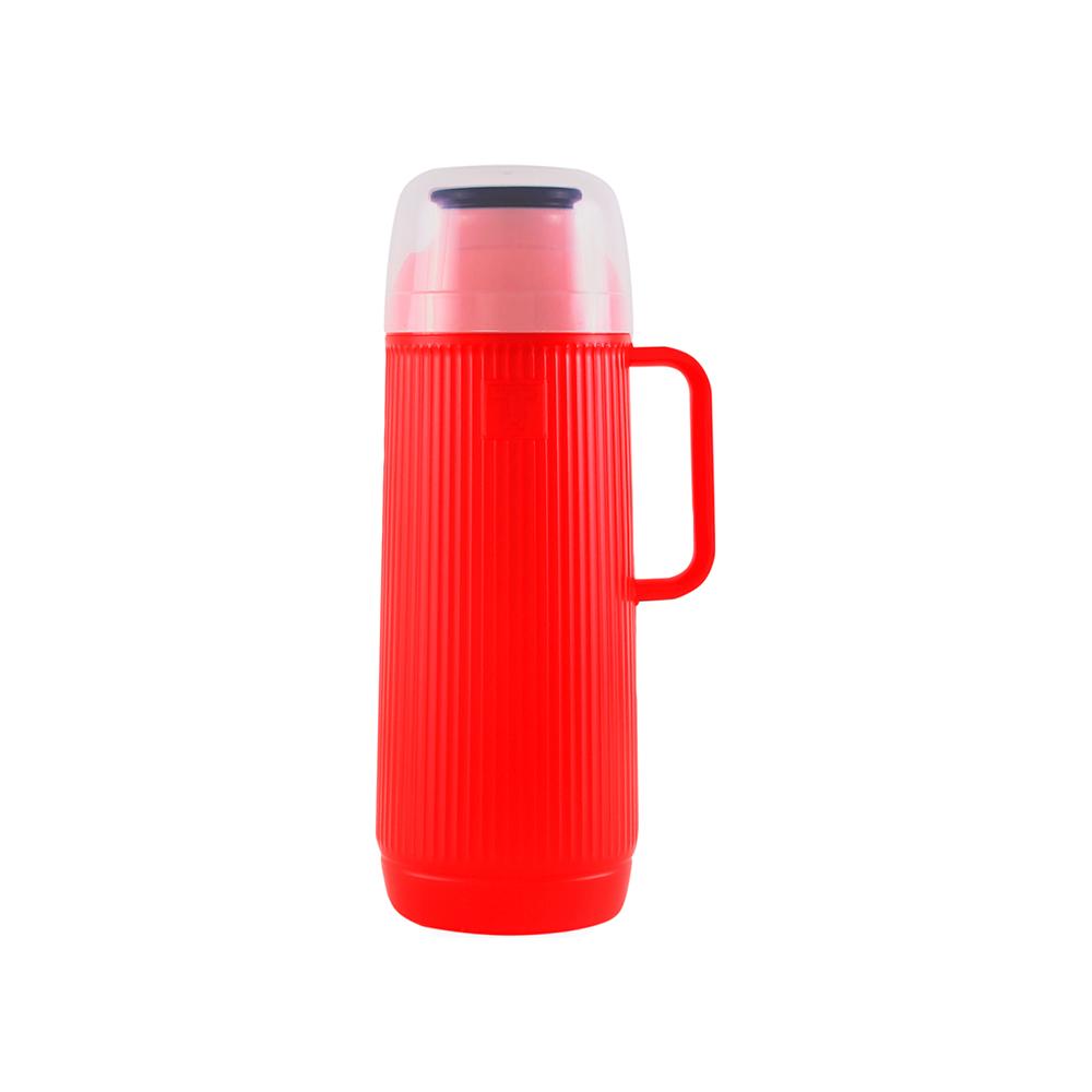 Garrafa Térmica Mundial Vermelha 1L Termolar