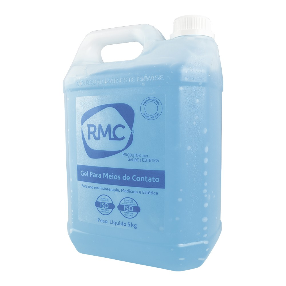 Gel Contato Clínico Galão 5kg Azul RMC