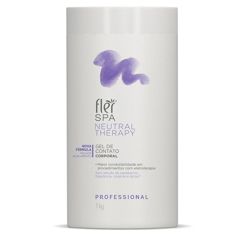 Gel de Contato Corporal Spa Neutral Therapy 1kg Flér