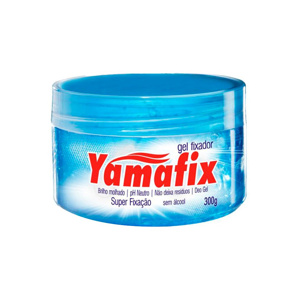 Gel Fixador Capilar Azul Super Fixação 300g Yamafix