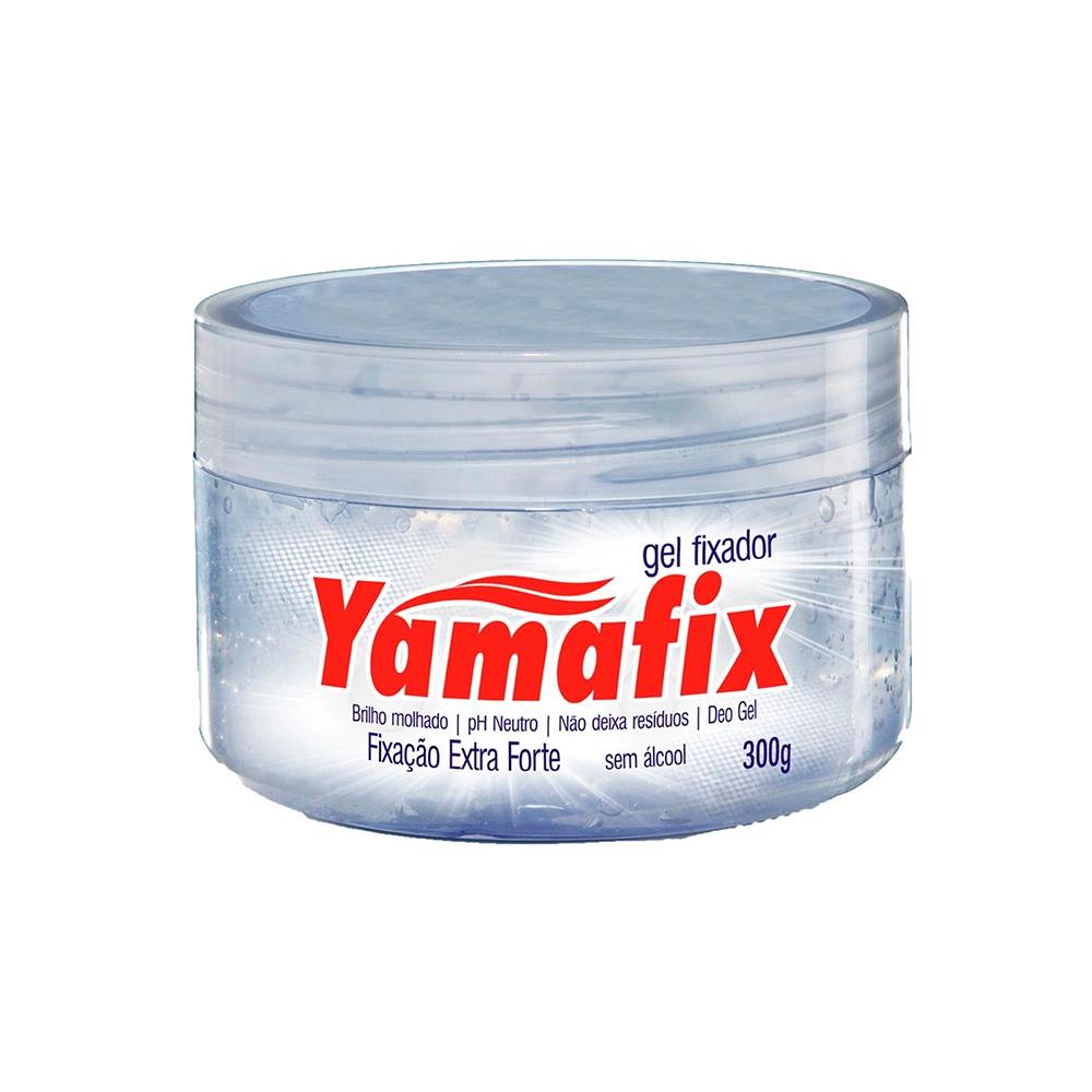 Gel Fixador Capilar Incolor Fixação Extra Forte 300g Yamafix