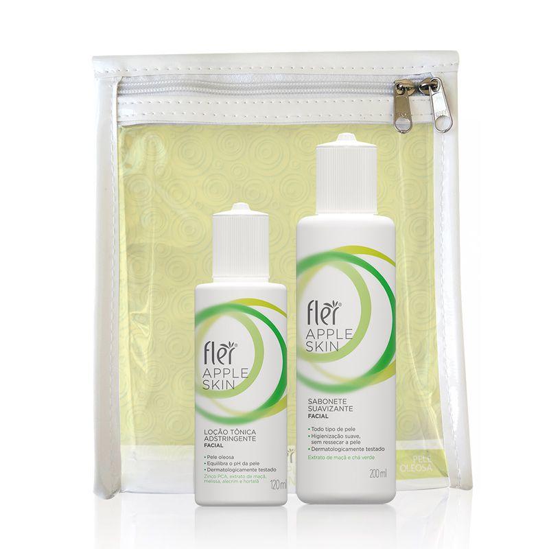 Kit Apple Skin Home Care Pele Oleosa Flér