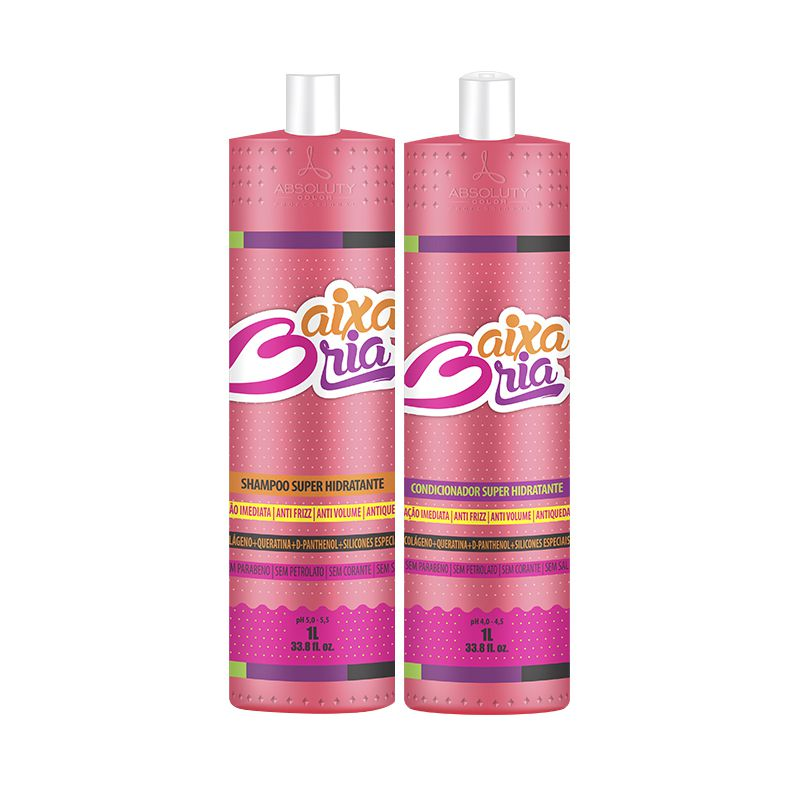 Kit Baixaria Chilincado Shampoo e Condicionador 1L Absoluty Color