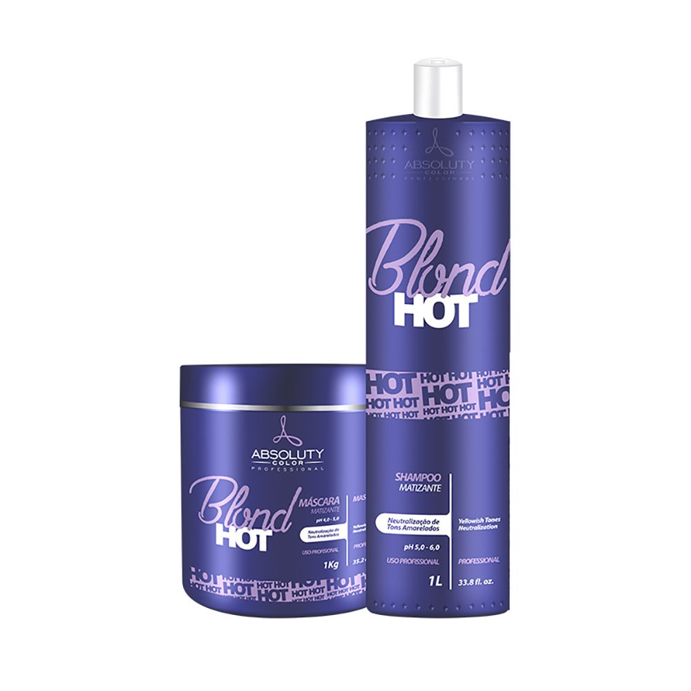 Kit Blond Hot Profissional Absoluty Color