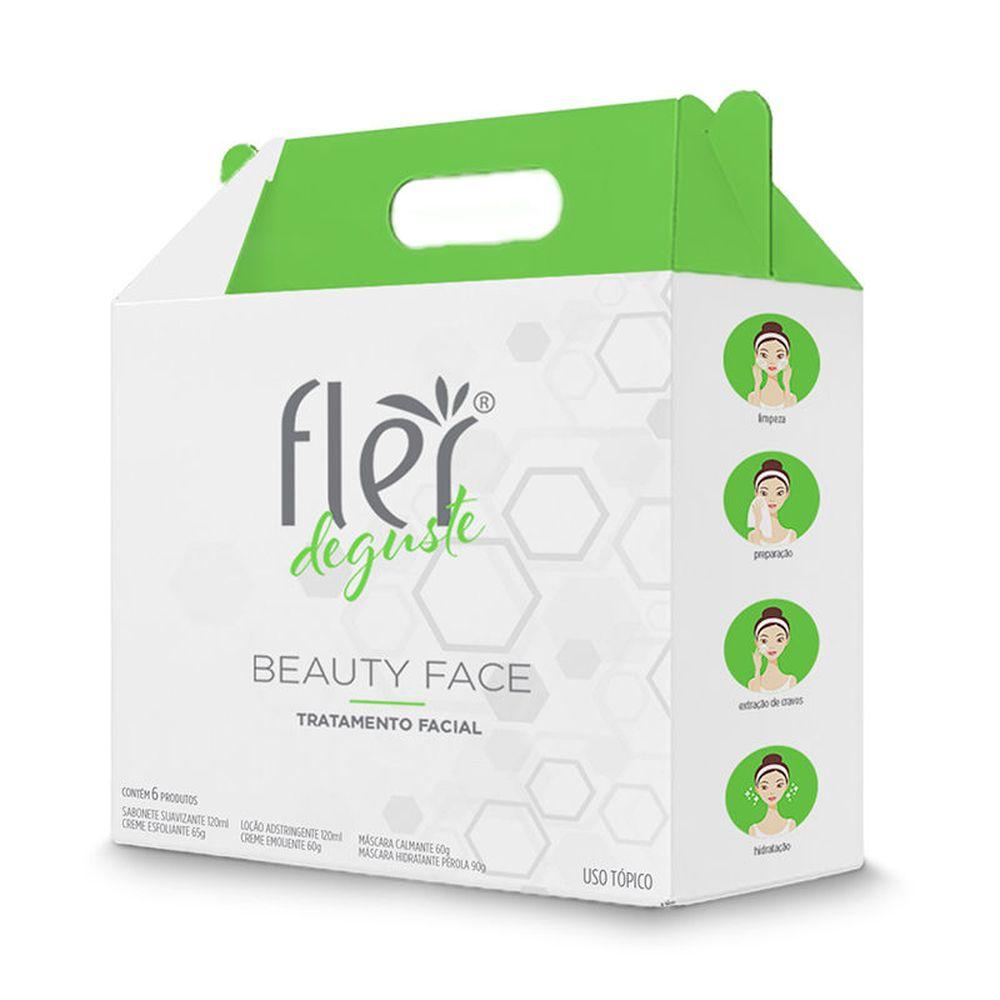 Kit Deguste Beauty Face Flér