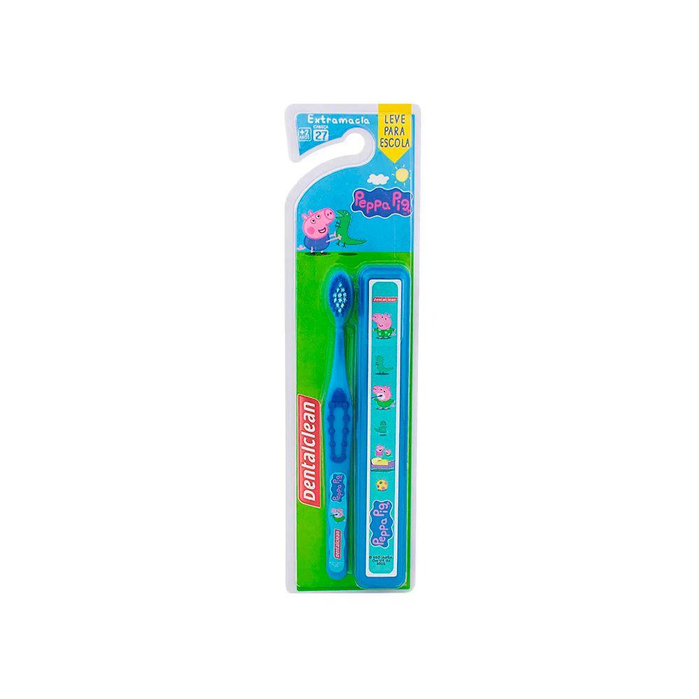 Kit Escolar Escova de Dente + Estojo George Peppa Pig