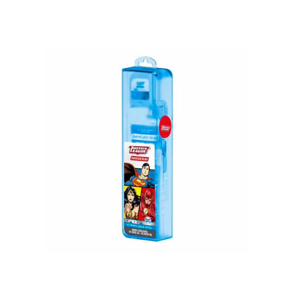 Kit Higiene Bucal Infantil Liga da Justiça Dentalclean