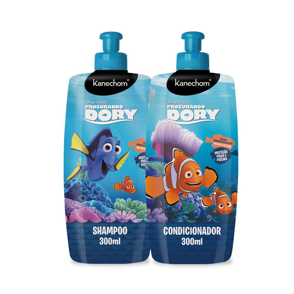 Kit Infantil Shampoo e Condicionador Procurando Dory Kanechom