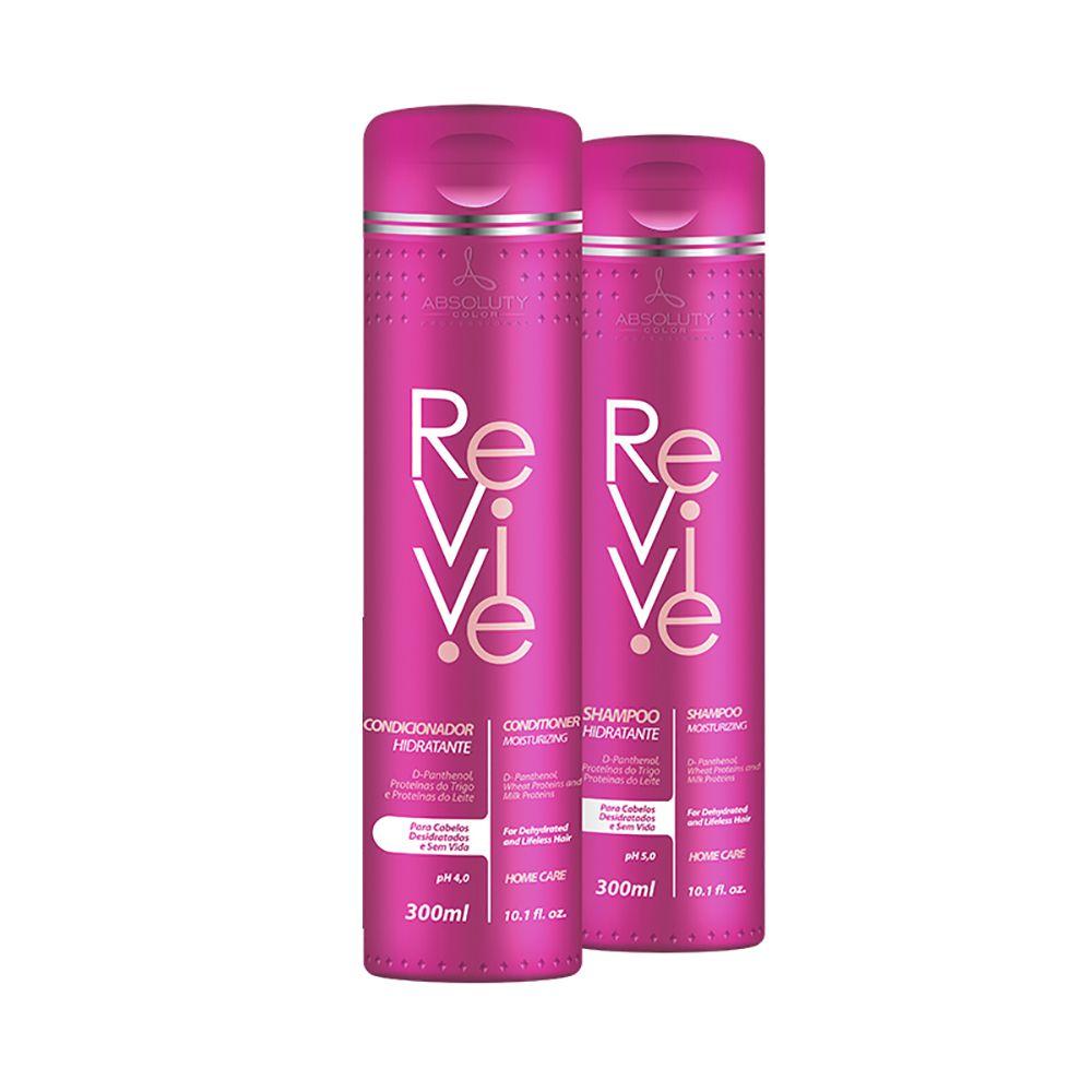 Kit Revive Shampoo 300ml + Condicionador 300ml Absoluty Color