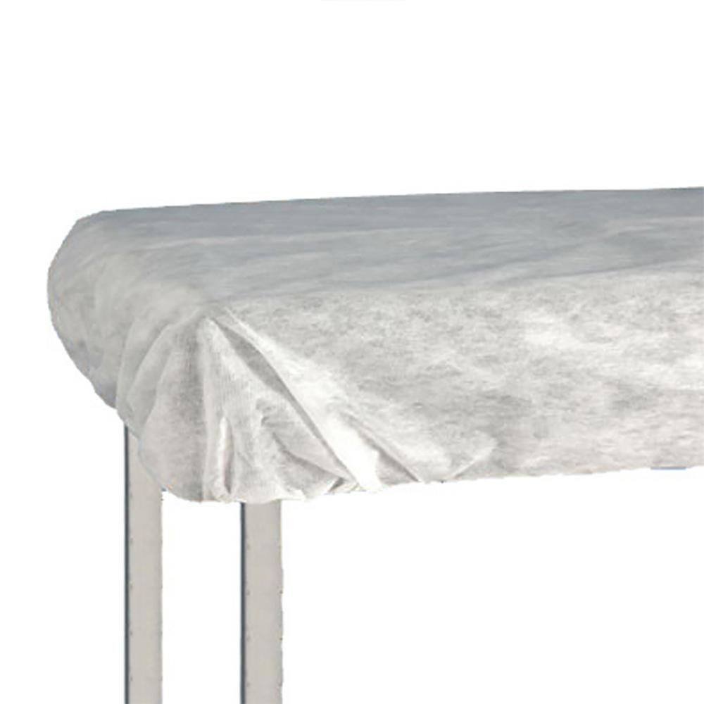 Lençol Descartável Soft com Elástico 2,20x1,20m Branco 10un Ana Dona